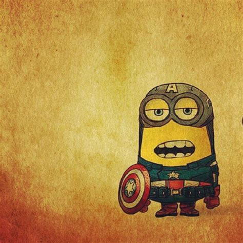 captain america minion wallpaper minion tattoo captain america and minions on pinterest