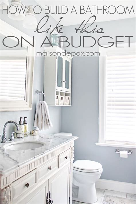 how to remodel a bathroom on a budget best 25 bath remodel ideas on pinterest building ideas