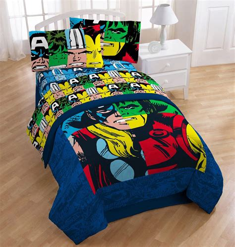 superhero bedding twin superhero bedding avengers twin bed sheet set comic book hulk book covers