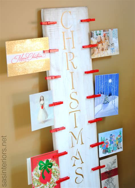 christmas card holder a lowes creative idea