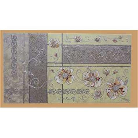 quadri moderni con fiori in rilievo fiori in chiaro astratti 2 vendita quadri