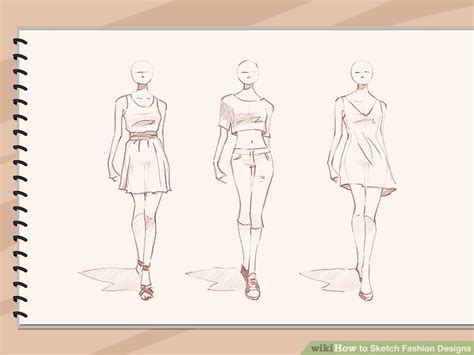 sketchbook how to colors how to sketch fashion designs 5 steps with pictures