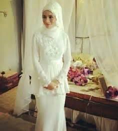 Mimi Syari by Contoh Model Baju Pengantin Muslim Syar I Modern Terkini