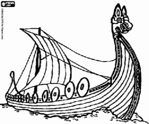 vikings coloring pages printable games