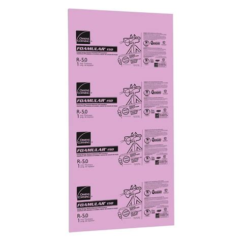 owens corning foamular 150 1 in x 4 ft x 8 ft r 5