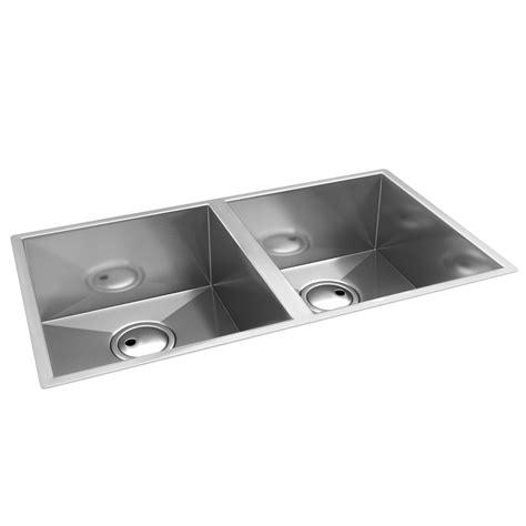 Abode Matrix R0 2 0 Bowl Kitchen Sink Aw5012 2 Bowl Kitchen Sink