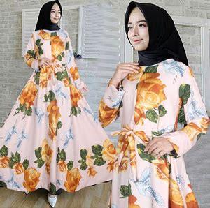 Gamis Pesta By Mlb Syari Setelan Muslim Dres baju gaun india dress panjang maxi agatha model terbaru
