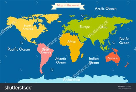 image of world map with continents picture of diagram world map w continents best with and