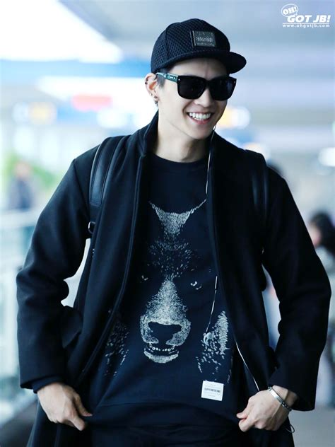 kpop idol with fabulous airport fashion got7 jb