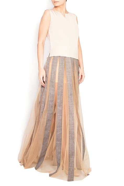 Dress Florentina Xl tulle and cotton maxi skirt maxi skirts made to measure