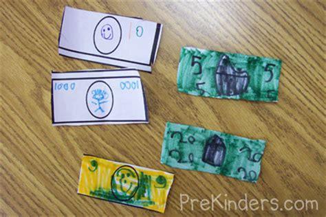 money crafts for exploring money in pre k prekinders