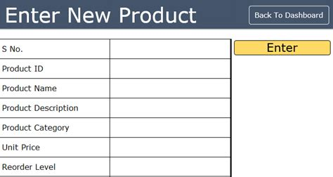 data item description template ready to use excel inventory management template free