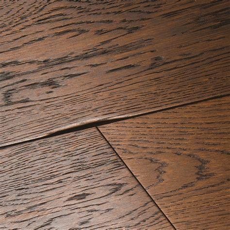 distressed wood tile flooring chepstow distressed charcoal oak flooring woodpecker
