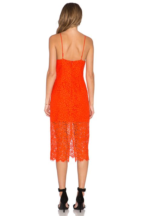 lyst bardot lace dress in