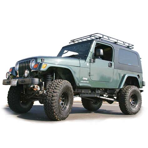 Jeep Sport Roof Rack Track Rack Sport Series 04 06 Jeep Unlimited Track