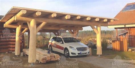 Naturstamm Carport Selber Bauen Spinjo Info