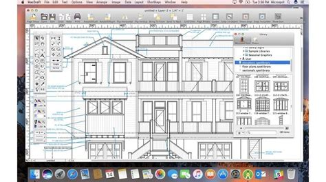 easy 2d architectural design software best cad software for mac 2018