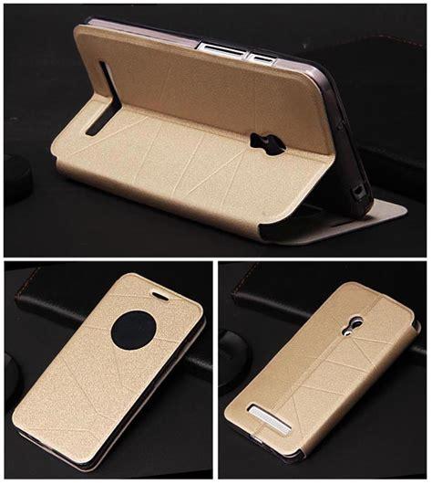 Taff Leather Flip Asus Zenfone 4 T1310 5 buy asus zenfone 5 smart view flip cover gold malaysia