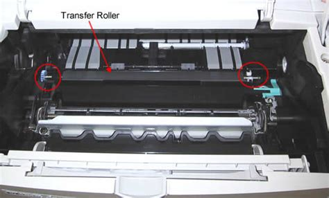Roller Printer Hp Hp Laserjet M600 M601 M602 M603 Transfer Roller Installation