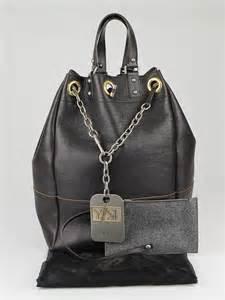 Allens Ysl Overseas Bag by Yves Laurent Brown Leather Large Overseas Tote Bag