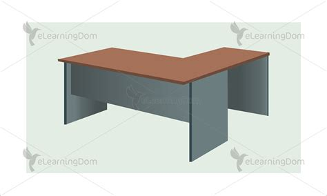 L Shaped Work Desk Elearningdom L Shaped Work Desk