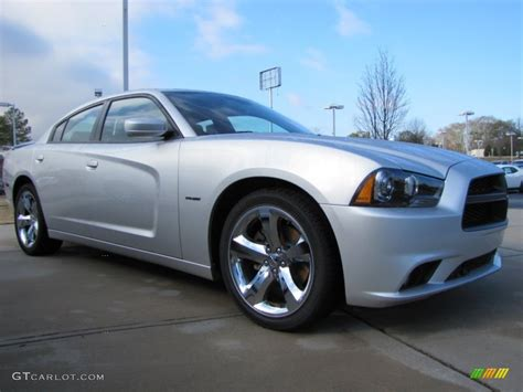 custom silver dodge charger bright silver metallic 2012 dodge charger r t road and