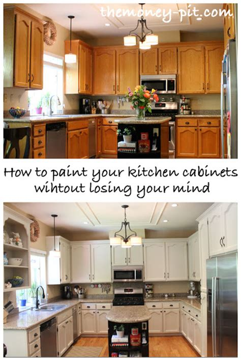 the six fix how to paint your kitchen cabinets