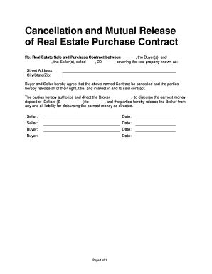 Cancellation Letter Real Estate Contract 28 cancellation of contract letter real estate