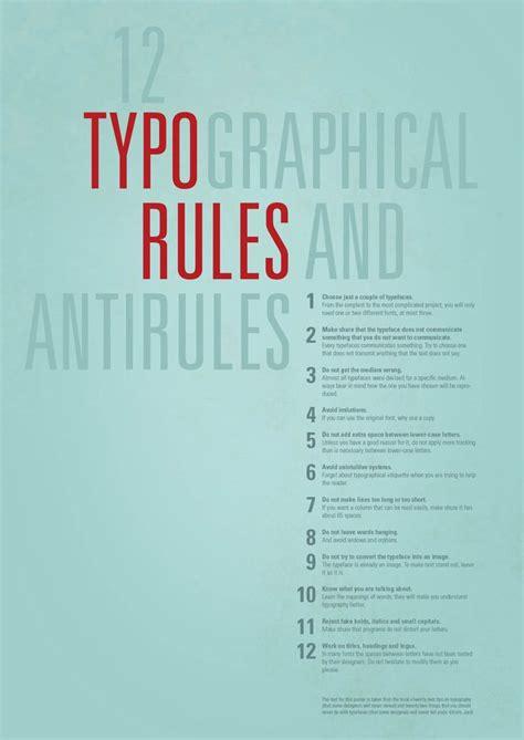design font rules 79 best type poster information design images on