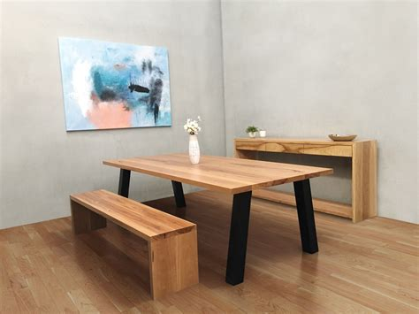 breakfast table with bench seat bench seat dining table australia lumber furniture