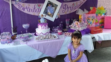 themed birthday party for 5 year old 216 best images about itzel s sofia the first party