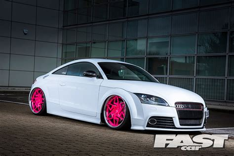 Modified Audi TTS Fast Car