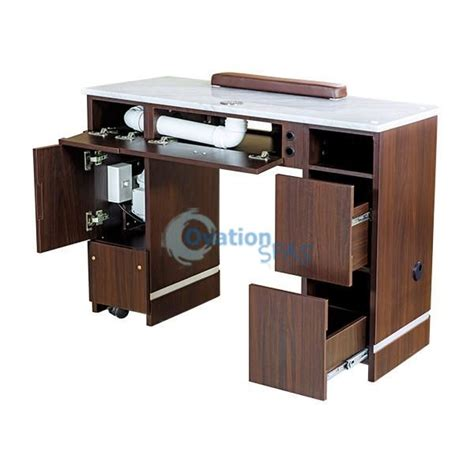 Nail Table With Ventilation System