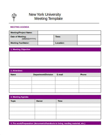 Best Meeting Notes Template Best Meeting Minutes Template 24 Free Word Pdf Documents Download Free Premium Templates