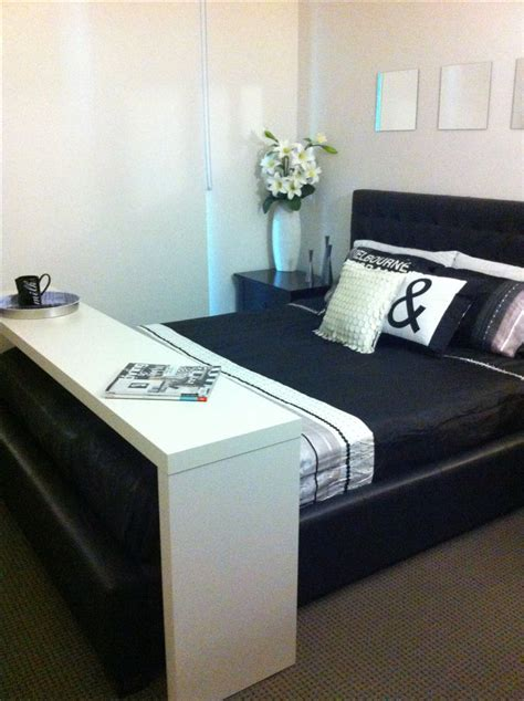 ikea malm occasional table    bed