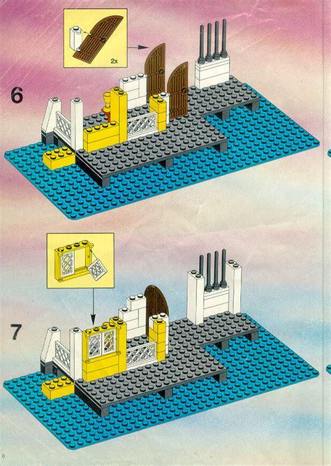lego  lagoon lock  instructions pirates