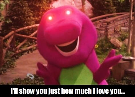 Barney Meme - barney meme by iseethelattice on deviantart