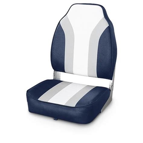 boat seats in wise 174 economy fishing boat seat 140397 fold down seats