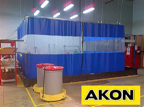 drapery warehouse plastic industrial curtains akon curtain and dividers