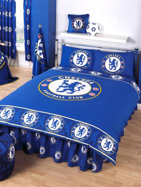 Double Bed Duvet Size Chelsea Fc Duvet Cover And Pillowcase Border Review