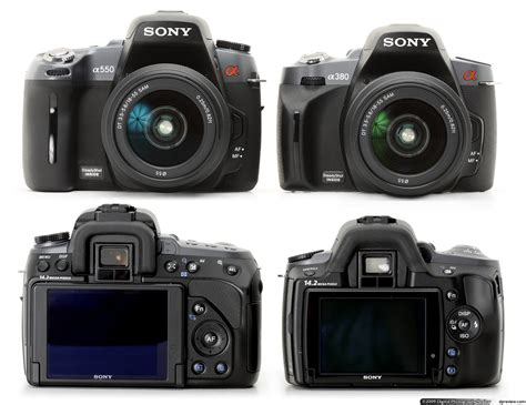 Kamera Dslr Sony A550 sony a550 review digital photography review
