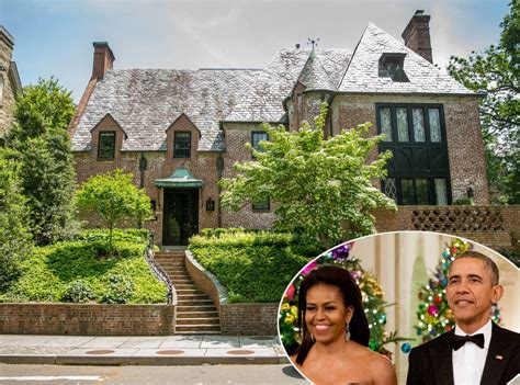 barack obama house barack obama and michelle obama purchase their washington d c rental home e news