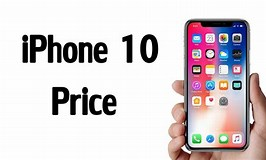Image result for iPhone 10 Price