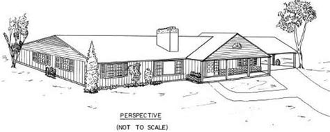 free 3 bedroom ranch house plans with carport ranch house plans 3 bedroom house with carport