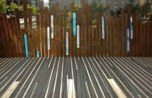 Delightful Panneau En Bois Pour Jardin #4: Brise-vue-jardin-acier-corten-revetement-sol-bois.jpg