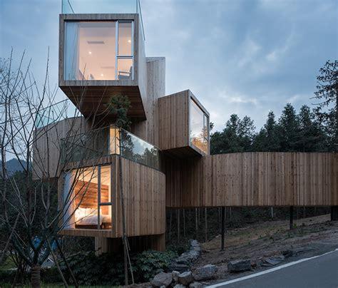 buy tree house qiyunshan tree house hotel in china by bengo studio