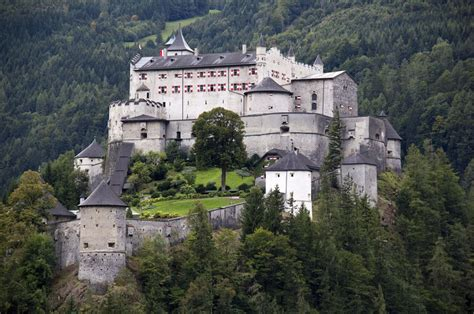 Hohenwerfen Castle, Austria Amazing Places