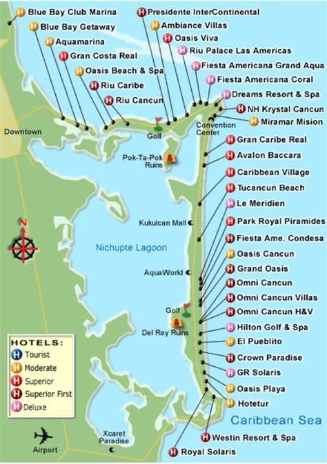maps cancun map of cancun resorts immaginieuropa