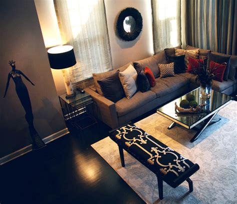 Home Interior Design For Living Room Chicago Interior Design Artist S Home Mia Rao Design