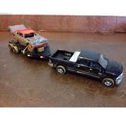 Custom 1/64 Towing Set Demolition Derby Greenlight Impala